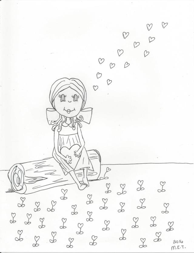 valentine's coloring page 001